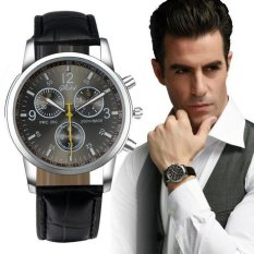 ... Quartz Sport Stainless Steel Dial Leather Band Wrist Watch. IDR 39,000 IDR39000. View Detail. coconie New Luxury Fashion Crocodile Faux Leather Men
