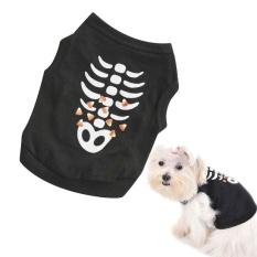 Cocotina Pet Anjing Kucing Halloween Kostum PET Puppy T-Shirt Hoodie Pakaian Busana Bermerk Ukuran XS-Intl