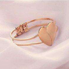Cocotina membuka hati wanita gelang Fashion perhiasan - Gold