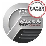 Beli Cod Sarung Ban Cover Ban Serep Toyota Rush 23 Penutup Pelindung Dengan Kartu Kredit