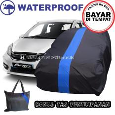 COD - Sarung Bodi Mobil Honda New Brio Blue Cover Body Penutup Selimut Waterproof Anti Air