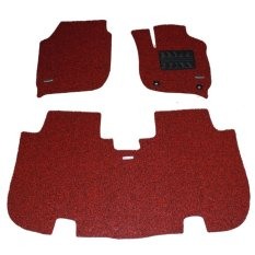 Comfort Deluxe Karpet Mobil Honda All New Jazz 2015+ 2 Baris Red Black