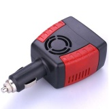 Harga Compact Power Car Inverter 150W 220V Ac Eu Plug And 5V Usb Charger Hitam Merah Dan Spesifikasinya