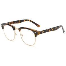 Computer Glasses Frame Goggles Anti Blue Ray Clear Lens Gaming Glasses Men and Girl Spectacle Radiation Resistant Eyeglasses Eyewear JH0070 Black - intl