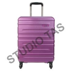 Spesifikasi Condotti Tsa 63107 Koper 20 Purple Cover Double Zipper Murah