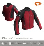 Kualitas Contin Jaket Motor Zirkon Facelift Merah Contin