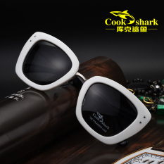 Spesifikasi Cookshark Luar Ruangan Putih Wanita Polarizer Kacamata Hitam Bagus
