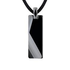 Harga Cool Black Tungsten Carbide Pendant Dengan Kalung Pria Langkah Demi Langkah Perhiasan Tinggi Hadiah Yang Sempurna Untuk Pria Dan Wanita Intl Baru