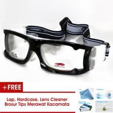 Cougar CG08 Frame Kacamata Olahraga Futsal / Basket Bisa Dipasang Lensa Minus Di Optik Terdekat