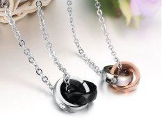 Couple Aksesoris Kalung Couple Titanium KC016