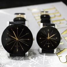 Jual Pasangan Pu Arloji Jam Tangan Kulit Pasangan Kekasih Hati Oem Branded