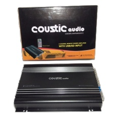 Coustic CA778USB With USB power 4 ch Mosfet