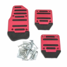 Cover Aluminium Pedal Gas Mobil XB-373 s3933 - Red