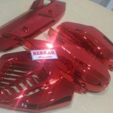Spesifikasi Cover Cvt Full Sett Vario 125 Led Esp 150 Led Esp Merah Yang Bagus