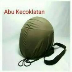COVER HELM ANTI AIR - Raincoat - Jas Hujan Helm Tas Helm Sarung Helm - Abu