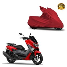 Jual Cover Mantroll Sarung Motor Yamaha Nmax Abs Merah Grosir
