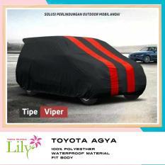 Cover Mobil Toyota Agya Waterproof / Sarung Mobil toyota Agya