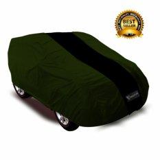 Cover Mobil Chevrolet Captiva / Pelindung Mobil Mantroll Original / Jas Mobil Berkualitas / Sarung Mobil Original / Mantel Penutup Mobil   Hjiau TNI  strip Hitam