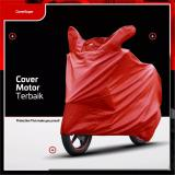 Jual Cover Motor Sarung Motor Mantel Motor Matic Dan Bebek Size L Merah Cover Motor Premium Asli