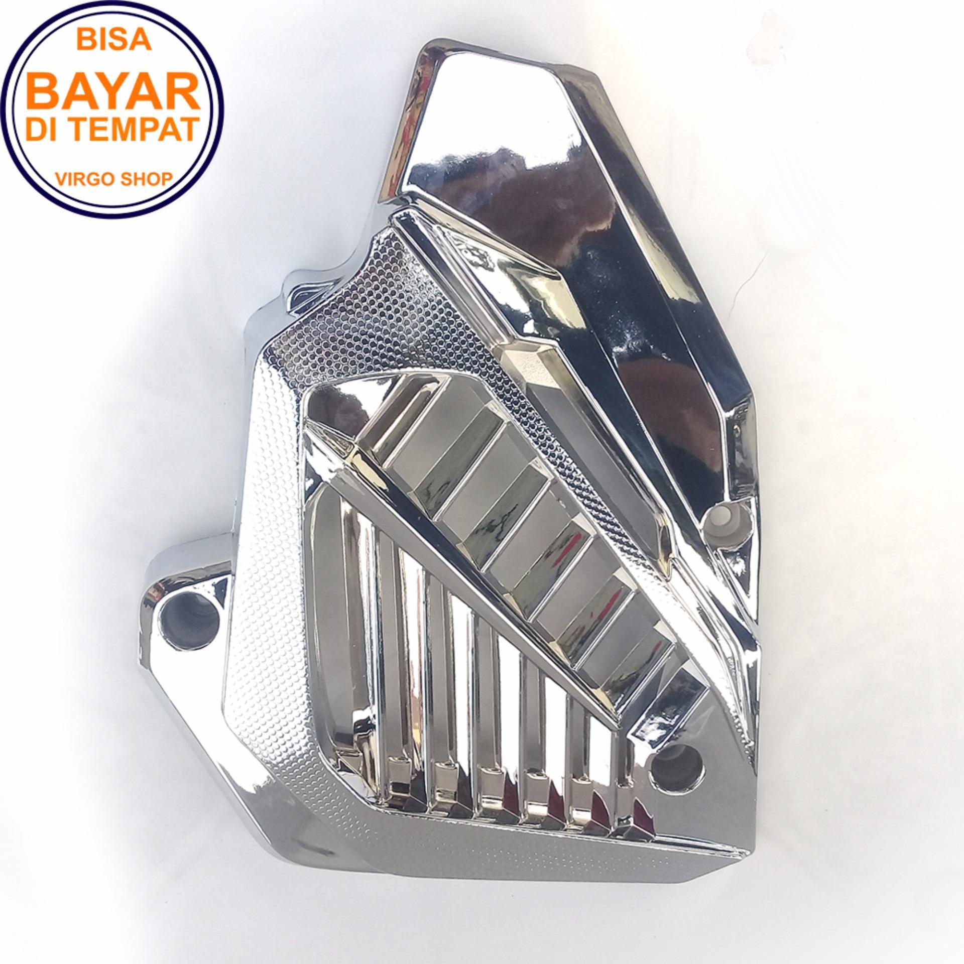 Jual Body Frame Motor Terbaru Emblem Vario 150 Set Cover Radiator Untuk Honda Esp Mesin Crome
