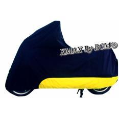 Spesifikasi Cover Sarung Motor Yamaha Xmax 250 Hitam List Kuning