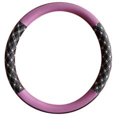 Toko Cover Sarung Stir Setir Steer Mobil Universal Sport Racing Diamond Hitam Pink Terdekat