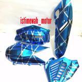 Review Pada Cover Set Cvt Knalpot Radiator Hawa Vario 150 125 Led New Blue Xxx