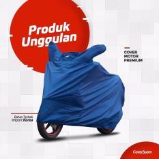 Toko Cover Super Cover Motor M Biru Lengkap Di Yogyakarta