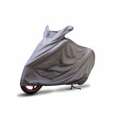 Toko Cover Super Cover Motor Xl Abu Abu Yang Bisa Kredit