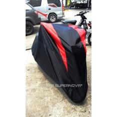 Harga Cover Supernova Body Cover Motor Yamaha Aerox 155 Hitam Murah