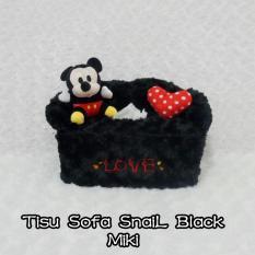 Cover tisu jual tempat tisu snail black mickey