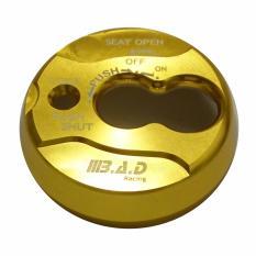 Rp 33.100. Cover / Tutup Kunci Kontak Yamaha NMAX dan Yamaha Matic Lainnya - Full CNC Mengkilap - GoldIDR33100