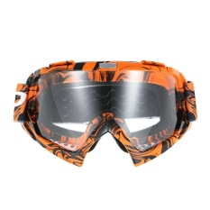 Beli Cross Country Motorcycle Riding Goggles Cross Country Goggles Game Motorcycle True Semi Permeable Membrane Cycling Glasses Orange Glasses Transparent Lenses Intl Murah Di Tiongkok
