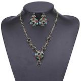 Beli Kalung Bunga Kristal Set Fashion Anting Untuk Wanita Intl Oem Murah