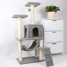 CS15 Luxurious Cat Villa / Pet Kitten Climbing Bed ScratchAccessories   - intl