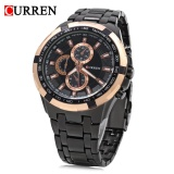 Harga Curren 8023 Pria Quartz Watch Luminous Pointer Tahan Air Militer Jam Tangan Intl Curren Terbaik