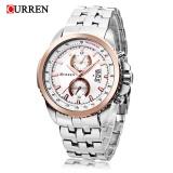 Spesifikasi Curren 8082 Pria Quartz Watch Tampilan Tanggal 3Atm Jam Tangan Intl Online