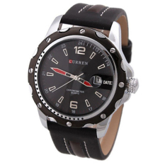 Jual Curren 8104 Casual Style Watch Black