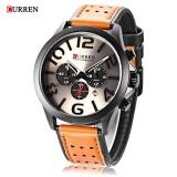 Ulasan Tentang Curren 8244 Pria Quartz Watch Chronograph 24 Jam Kalender Men Wristwatch