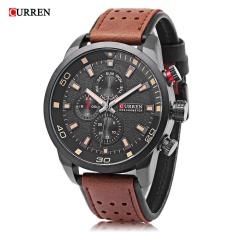 Spesifikasi Curren 8250 Pria Jam Quartz Dekoratif Sub Dial Luminous Pria Arloji Intl Dan Harganya