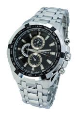 Beli Curren 642484 Jam Tangan Pria Stainless Steel Strap Classicwatch Silver Kredit Indonesia