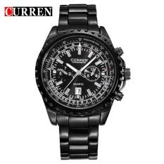 Toko Curren Watch Jam Tangan Es Men Quartz Watch Jam Tangan Luxury Wristwatch Militer Jam Tangan Es Fashion Casual Tahan Air Angkatan Darat Olahraga 8053 Dekat Sini