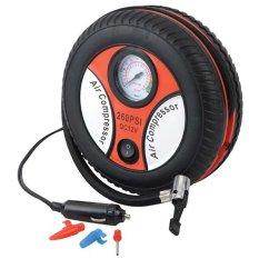 Roda Kompresor Listrik Portable Ban Mobil / Motor & Kasur Tiup Lipat Car Mini Air Compressor Pompa Angin By = I2y Store =.