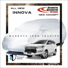 Custom Sarung Mobil Body Cover Penutup Mobil All New Innova 2016 Fit On Car