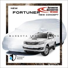 Custom Sarung Mobil Body Cover Penutup Mobil Fortuner Fit On Custom Diskon 40