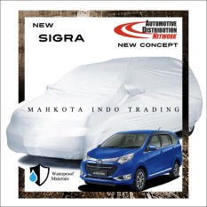 Custom Sarung Mobil Body Cover Penutup Mobil Sigra Fit On Car