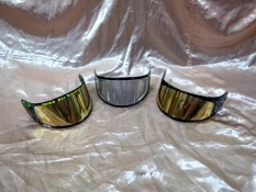 Custom VisorKaca helm KBC V Euro, V Zero, VK, & HJC LORENZO YAMAHA