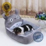 Toko Hewan Lucu Kucing Anjing Tempat Tidur Hewan Peliharaan Mats Teddy Pet Anjing Sofa Pet Cat Bed House Big Selimut Bantal Keranjang Perlengkapan 6 L Grey Totoro Intl Oem