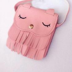 Harga Cute Anak Perempuan Rumbai Bahu Messenger Tas Mini Tas Tangan Intl Di Tiongkok
