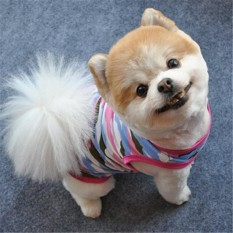 Anjing Lucu Summer PET Puppy Kamuflase Rompi Shirt Anjing Kecil PET Rompi Pakaian Appar-Intl